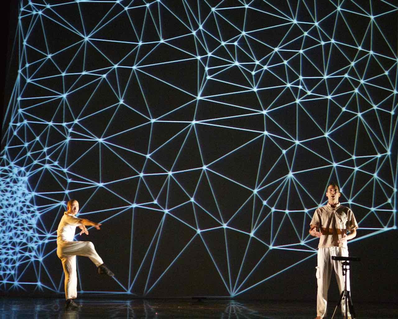 Video Mapping Dance Show