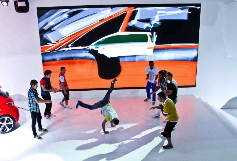 multimedia break dance