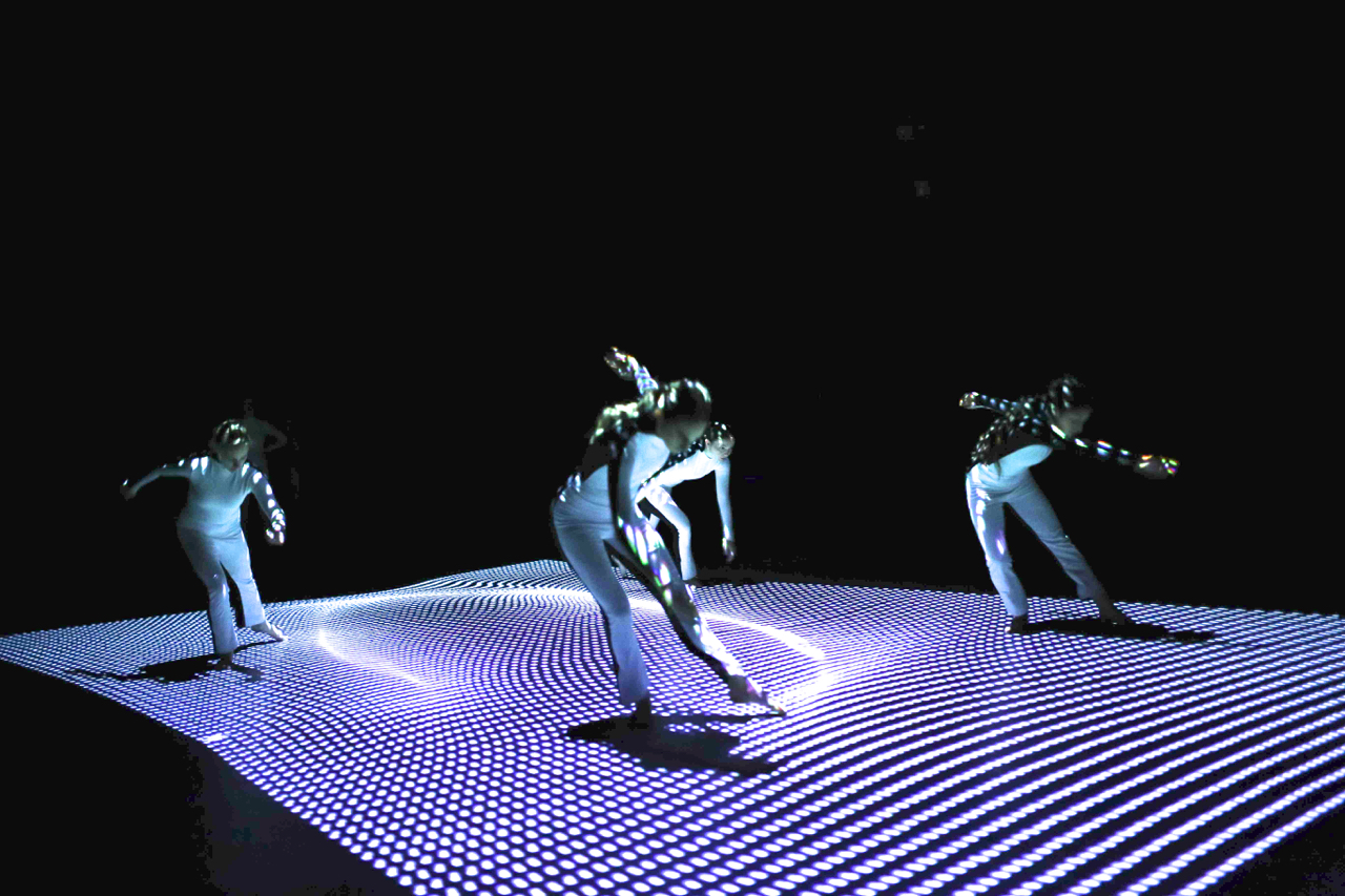 interactive floor projections